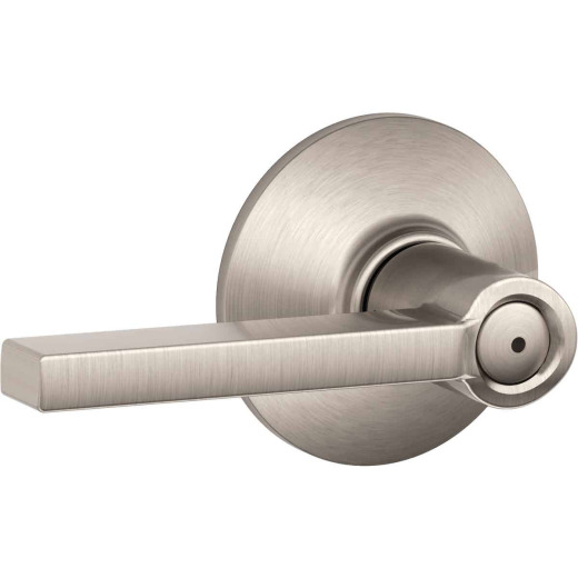 Schlage Latitude Satin Nickel Privacy Door Lever