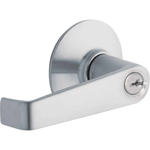 Schlage Satin Chrome Elan Entry Door Lever