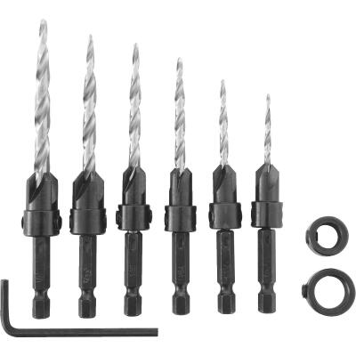 Irwin 8-Piece Wood Countersink Bit Set