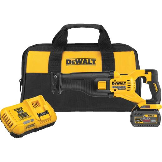 DeWalt Flexvolt 60-Volt MAX Lithium-Ion Brushless Cordless Reciprocating Saw Kit