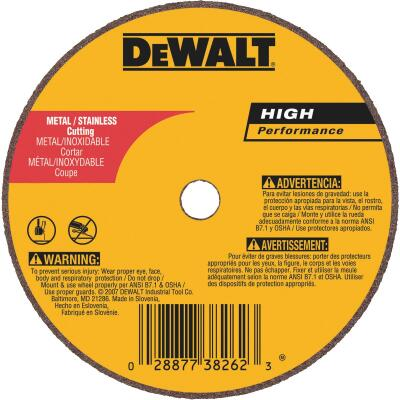 DeWalt HP Type 1, 3 In. Cut-Off Wheel