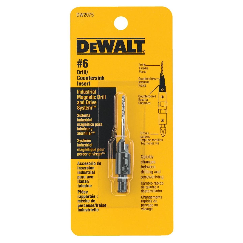 DeWalt #6 - 9/64 In. Black Oxide Round Wood Countersink Image 2