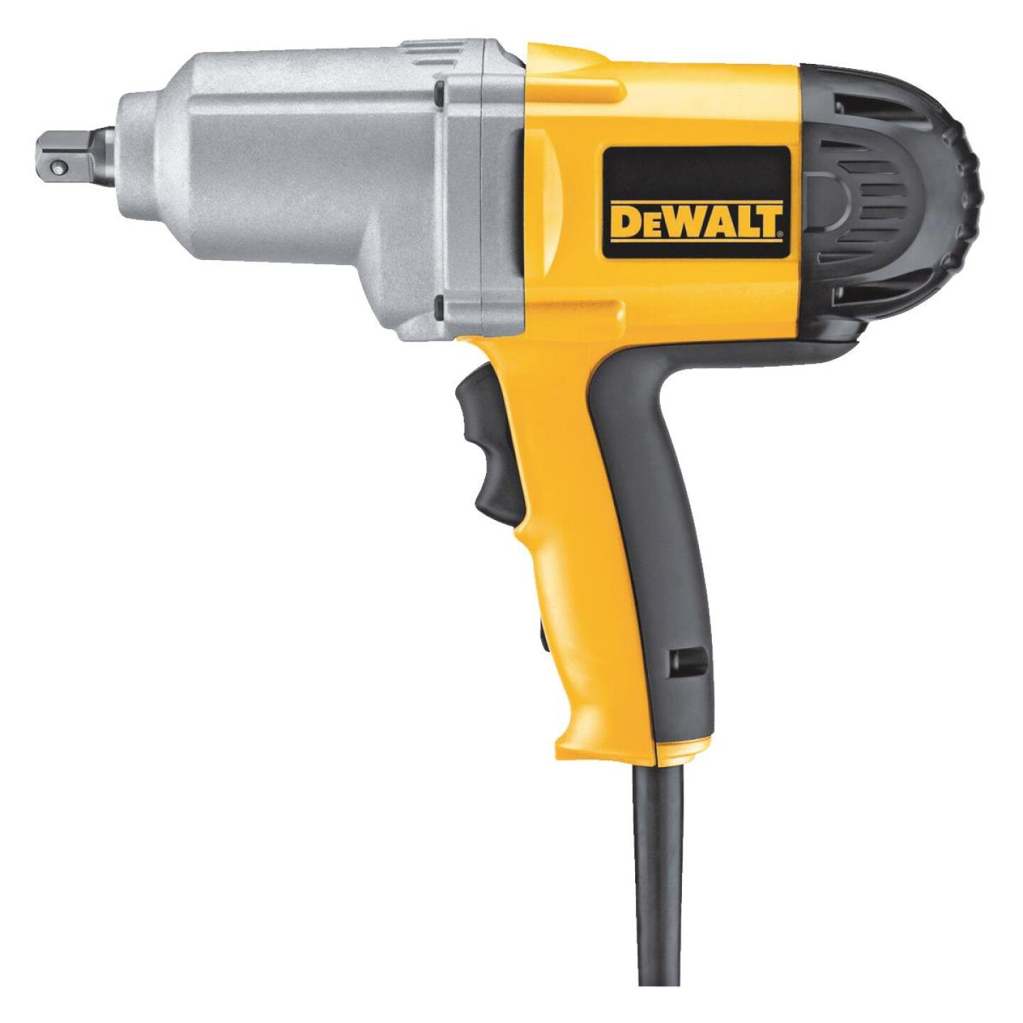 DeWalt 1/2 In. Impact Wrench with Detent Pin Anvil Image 1