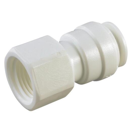 Anderson Metals 5/8 In. x 1/2 In. FPT Push-In Plastic Connector