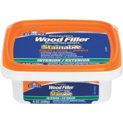 Elmer's Stainable Light Tan 8 Oz. Wood Filler