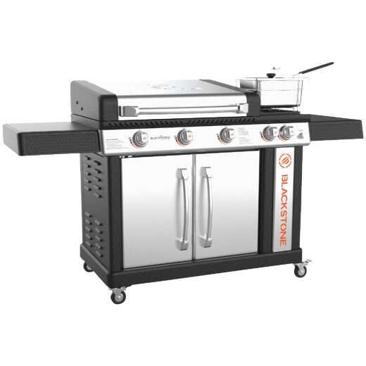 Blackstone Culinary Pro 5-Burner Black/Stainless Steel 16,000 BTU LP Gas Griddle